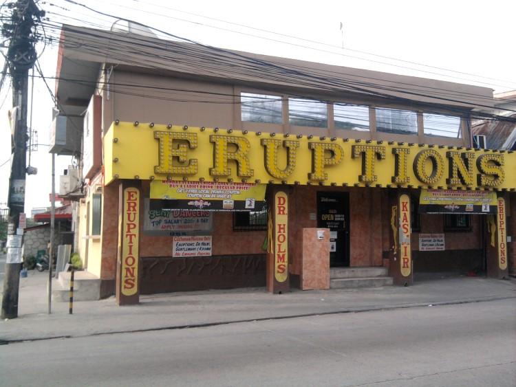 Eruptions Bar